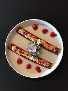 vegan paté cranberry luxe food eten restaurant veganrestaurant