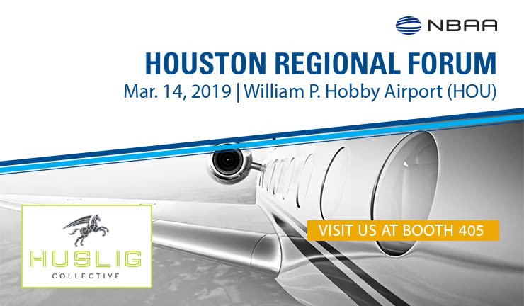 Huslig Collective at the 2019 NBAA Houston Regional Forum