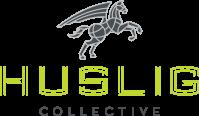 Huslig Collective dark horse logo