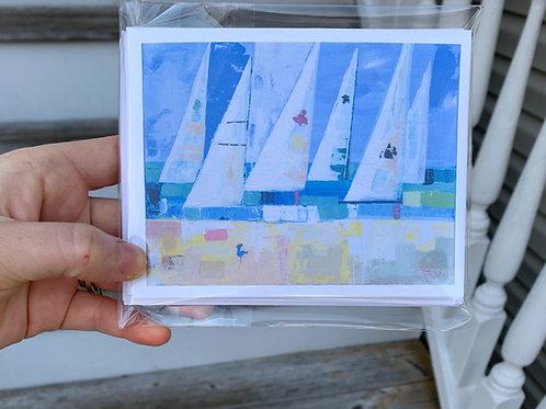 Charleston Harbor notecard set of 6 cards+6 envelopes