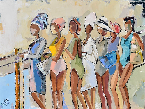 """""""Girl's Trip"""" 5x7 matted or 8x10 unmatted"""