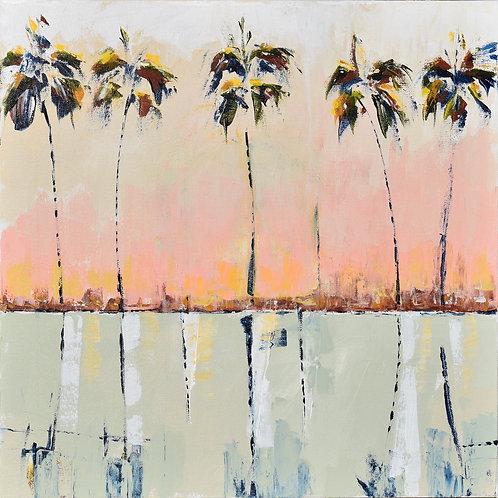 """""""Palm Reflection"""" 12x12 print"""