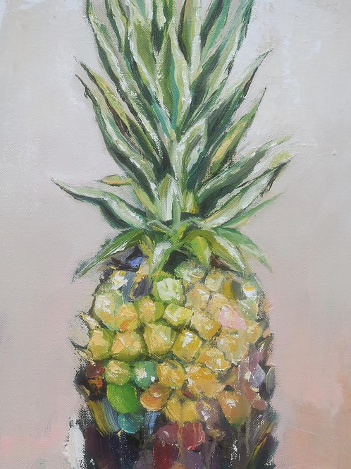 """Pineapple Welcome"" 8x10 print"