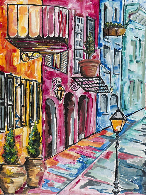 """""""Rainbow Row 1""""matted 5x7 OR unmatted 8x10 print"""