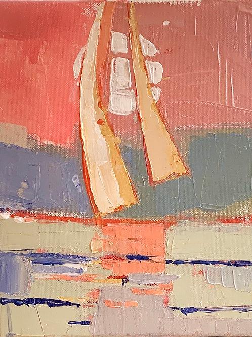 """A Boat for Lake"" 8x10 print"
