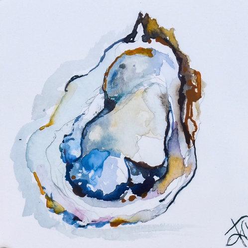 Blue Oyster 8x8 print