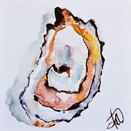 Blush Oyster 8x8 print