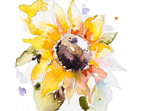 Original Watercolor Stationary/Notecards (set of 10)