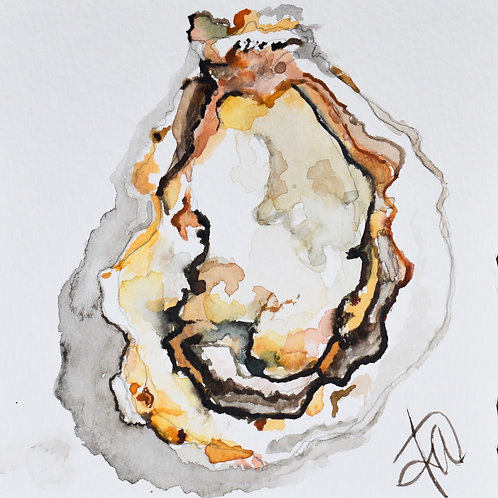 Rustic Oyster 8x8 print