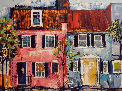 """Pink House"" 5x7 matted or 8x10 unmatted prints"