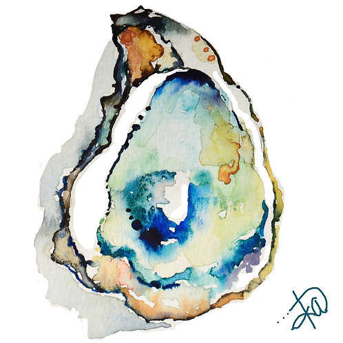 Single Oyster  print