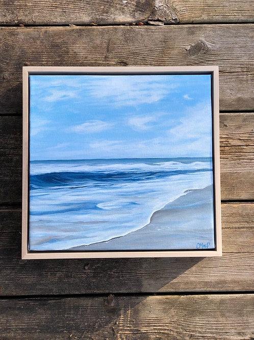 "Blue waves series 08 - 10"" x 10"""