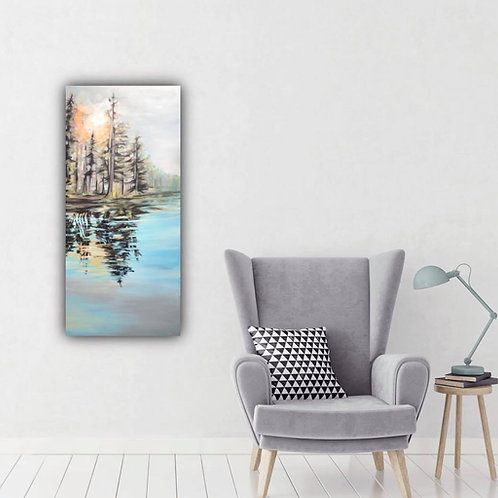 NORTHERN REFLECTIONS  – 23''x 50''