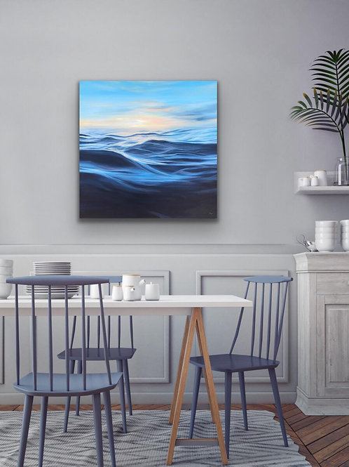 OUT TO SEA'' –  30'' x 30