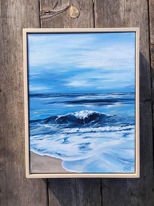 "Blue waves series 07 - 10"" x 12"""
