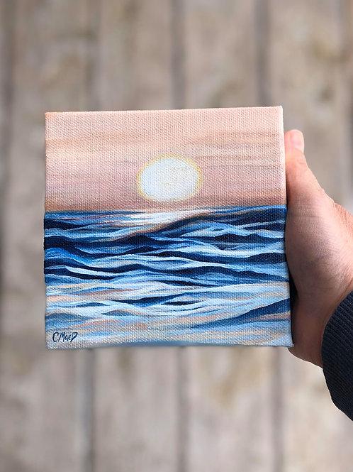 Sky & Water Series 006 - 6''x 6''