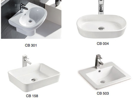 Tổng hợp mẫu thiết bị vệ sinh chậu bệ vòi cao cấp mới nhất 2017