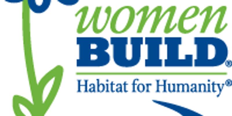 Habitat Women Build Friday, June 14th