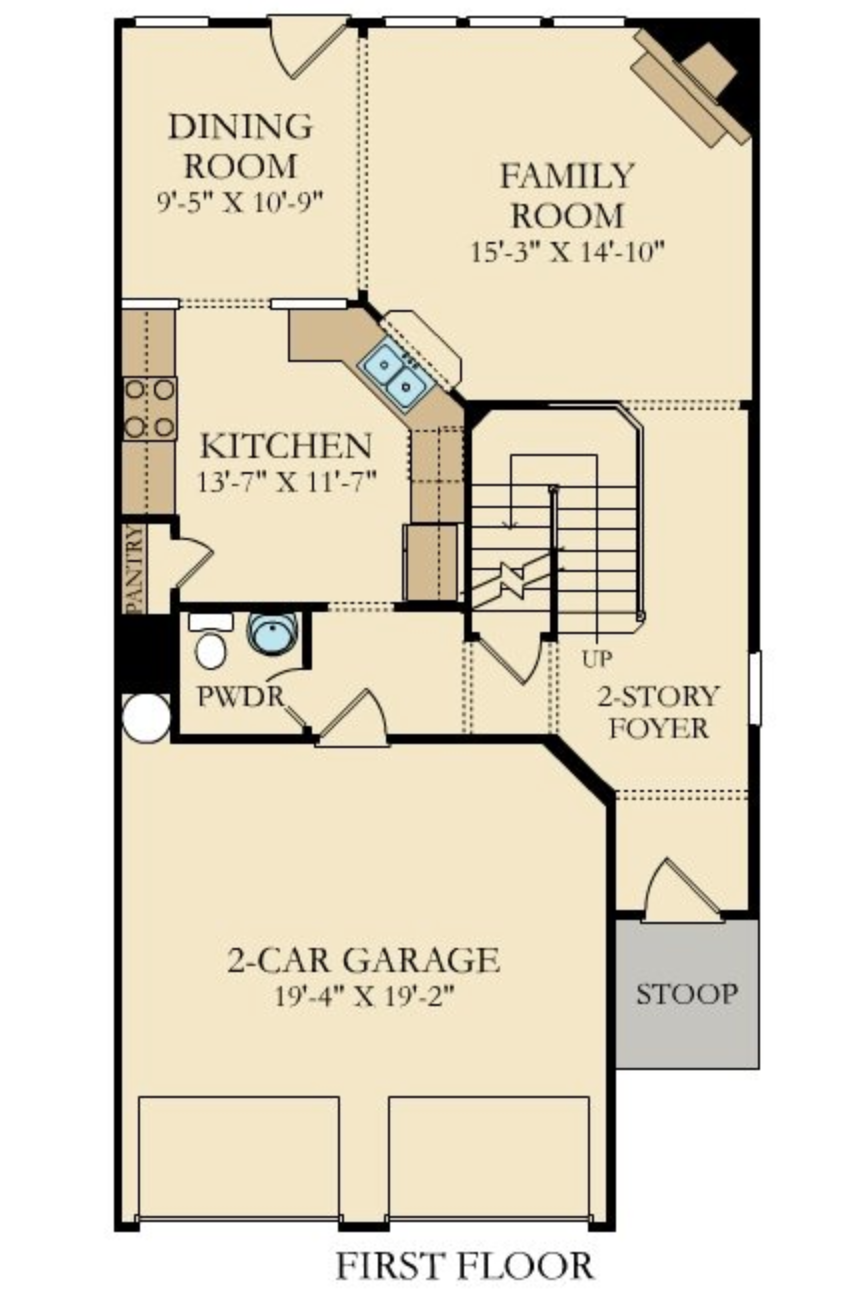 Lovett First Floorplan