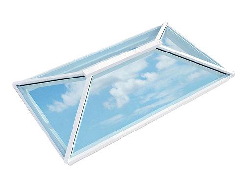 Atlas Contemporary Roof Lantern Window Active Neutral Double Glazed-White