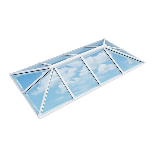 Atlas Active Neutral Double Glazed Traditional Roof Lantern – White