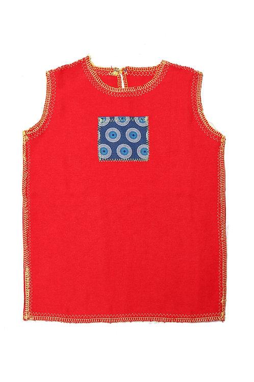 Doctor Red flannel Vest