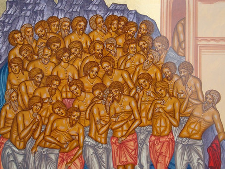 Sfintii 40 de Mucenici, 9 martie