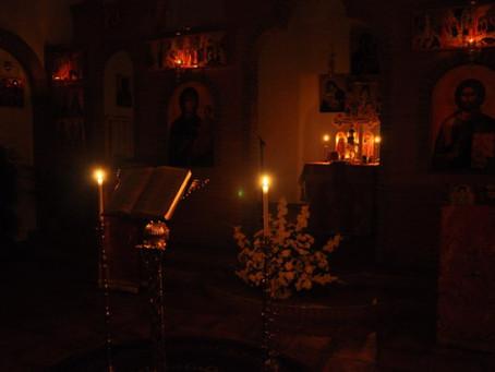 Vineri 22 martie ora 19.00 Liturghia darurilor mai inainte sfintite