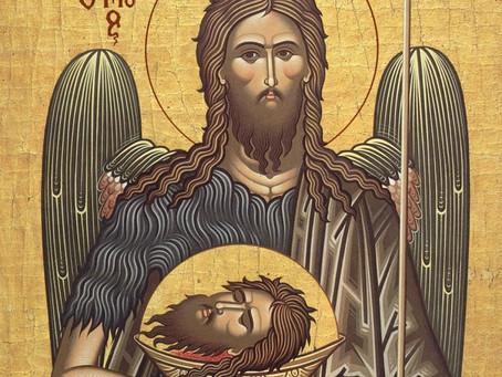 Taierea capului Sfantului Proroc Ioan Botezatorul (Post)