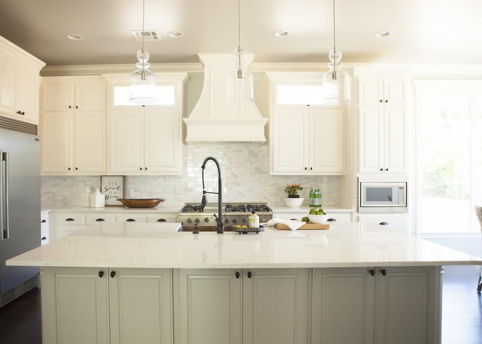 Light, Bright, and White Kitchen