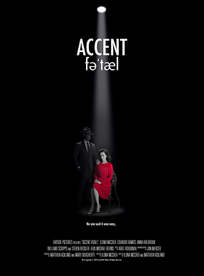 Ilona McCrea and Eduardo Ramos in Accent Fatale