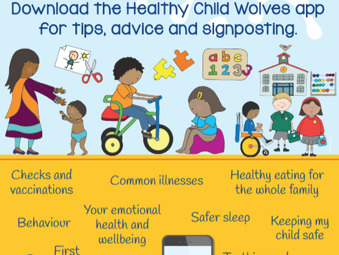 NPPS supports Wolverhampton's Healthy Child App