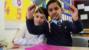 May's Newsletter: school news, scientists, bikes and bouncy castles.
