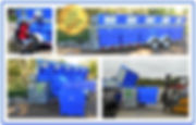 Alleycat Recycling Trailer 10 Bin