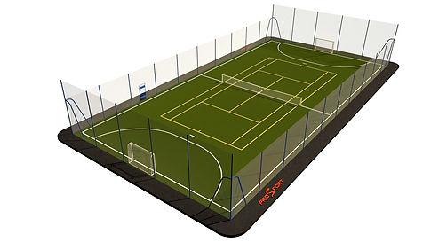 Строительство спортивных площадок и теннисных кортов