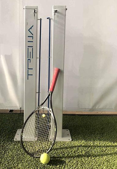 Стойки для большого тенниса с механизмом натяжки троса