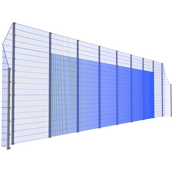 Модуль фронтальный ТРЕША™ с острыми углами (L-18 м. H-5/3 м.)