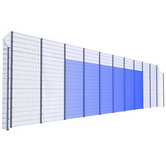 Модуль фронтальный ТРЕША™ с острыми углами (22 м. Н-5/4 м.)