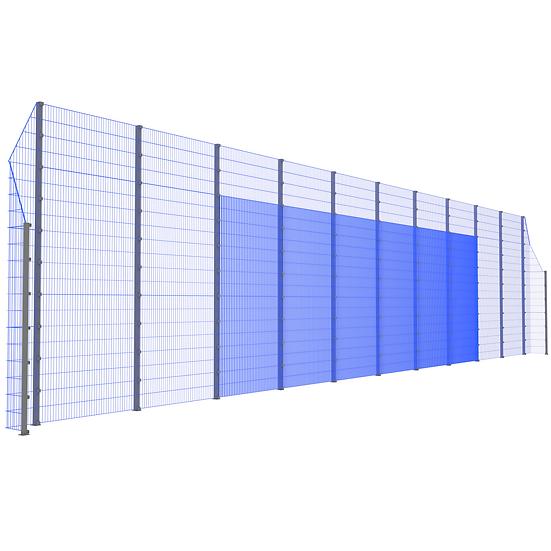 Модуль фронтальный ТРЕША™ с острыми углами (22 м. Н-5/3 м.)