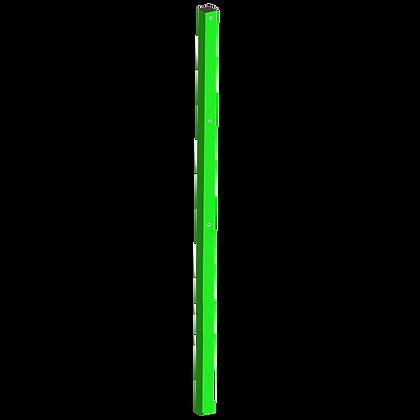 Столб 60х60 мм. Н-1250 мм. + 1 м. в бетон