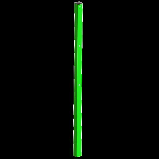 Столб 80х60 мм. Н-5000 мм + 1 м. в бетон (усиленный)