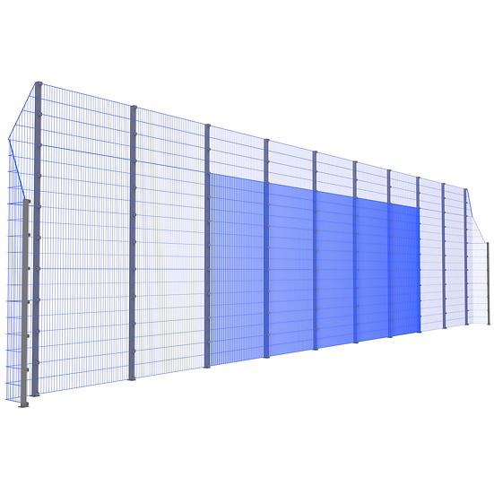 Модуль фронтальный ТРЕША™ с острыми углами (20 м.  Н-5/3 м.)