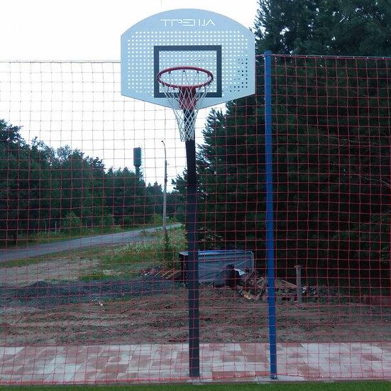 Щит стритбольный ТРЕША® 1200х900 мм. на регулируемой стойке (вылет 1,5 м)