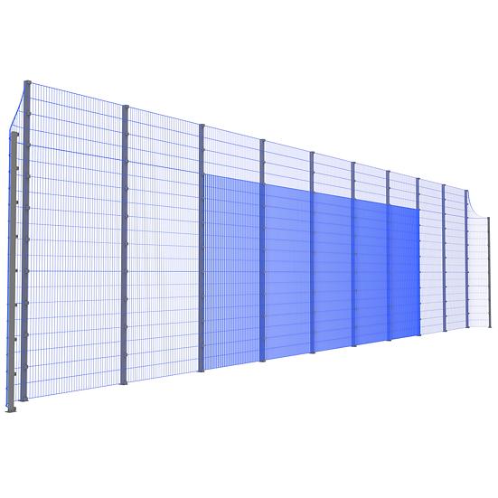 Модуль фронтальный ТРЕША™ с закруглёнными углами (20 м.  Н-5/4 м.)