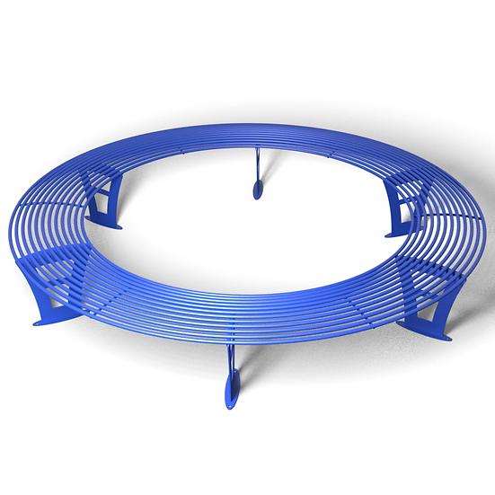 Скамейка ПРАЙМ круглая (Ø-2500 мм)