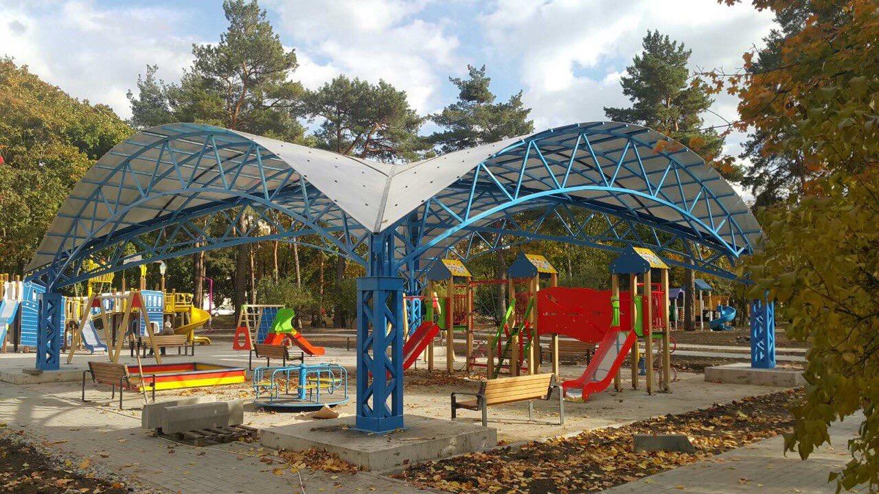 Навес детской площадки