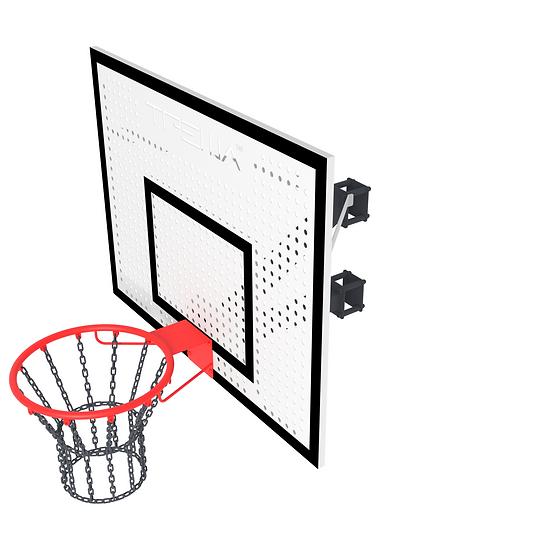 Щит баскетбольный ТРЕША™ 1200х900 мм. с кронштейном на столб (вылет 0,5 м)