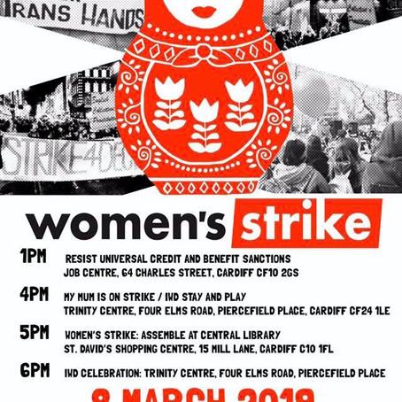 Galwad i weithredu: Streic Cynulliad Menywod Cymru - Tessa Marshall