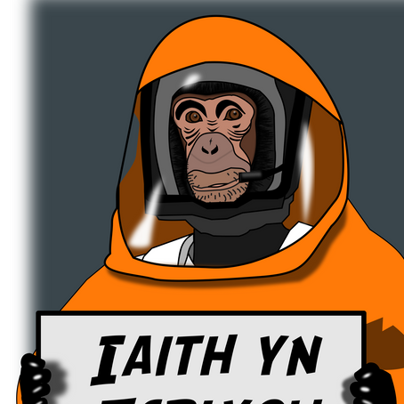 Ysgrif: Cydweithio i greu straeon am Gymraeg y dyfodol - Sean Roberts