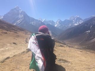Cerdyn Post Creadigol : Nepal - Anna George